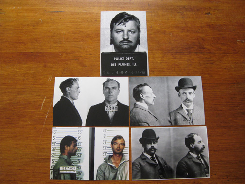 mugshots for sale serial killer