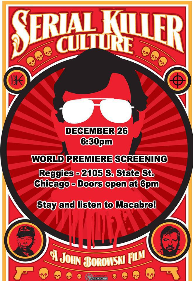 serial killer culture screening dec 26